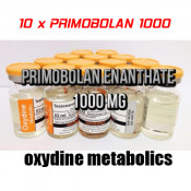 10 x Primobolan Enanthate Oxydine Metabolics