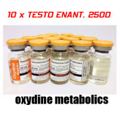 10 x Testosterone Enanthate 2500 Oxydine Metabolics